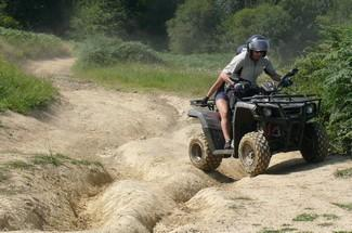 Quad biking 1h with passenger