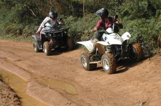 Quad biking 2h with passenger