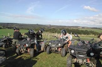 Quad biking 3h with passenger