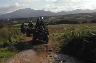 Quad biking full day