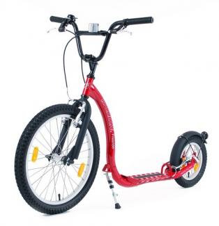 Trottinette KICKBIKE Freeride Rouge