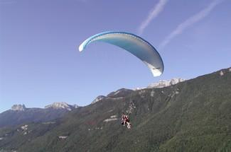 "2 - Parapente ""Vol Thermik"""