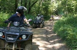 Quad biking 1h