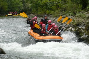 rafting pays basque